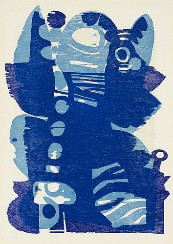 Spektrum, 16 Ausgaben der Reihe. Vierteljahresschrift für Originalgraphik und Dichtung. Hrsg. von Felix Rellstab und Erwin Sven Knebel. Zürich 1964-