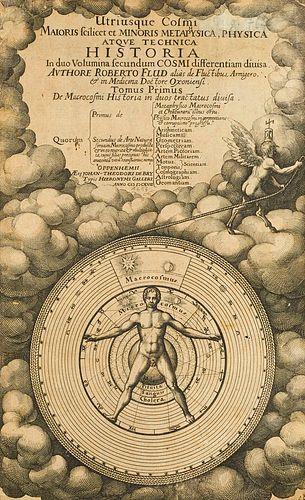 Fludd, Robert Utriusque cosmi maioris scilicet et minoris metaphysica atque technica historia in duo volumina secundum cosmi differentiam divisa. Tomu