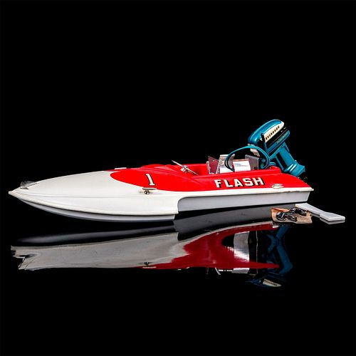Partially Assembled Flash Model Boat
