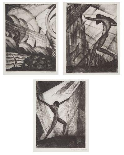 A GROUP OF TEN LITHOGRAPHS BY BORIS LOVET-LORSKI (AMERICAN 1894-1973), VOL. 2