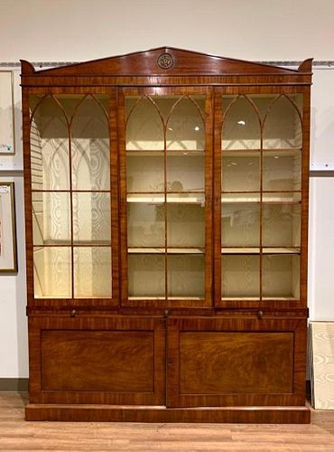 English Regency Secretary Bookcase, Mid. 19thc.
