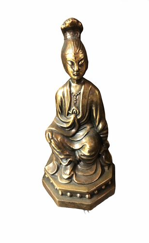 Antique Asian Bronze Sculpture of