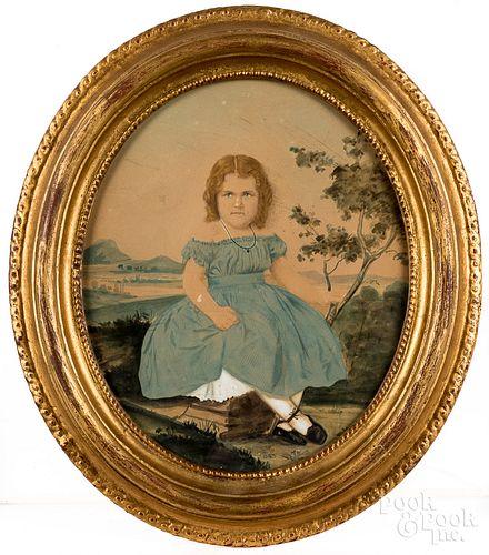Watercolor portrait of Laura Genning Beaks