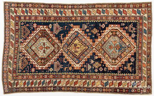 """Shirvan carpet, ca. 1910, 6' x 3'8""""."""