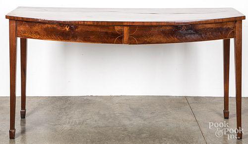 Hepplewhite mahogany server, ca. 1800