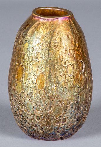 L. C. Tiffany Cypriot Favrile vase