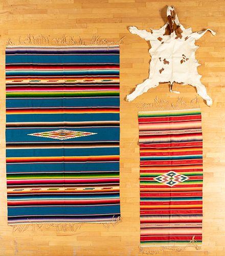 Chimayo southwestern Native American weavings