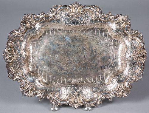 Black, Starr, & Frost, NY sterling silver platter