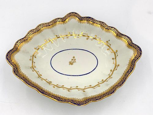 Derby Footed Compote, 18thc.