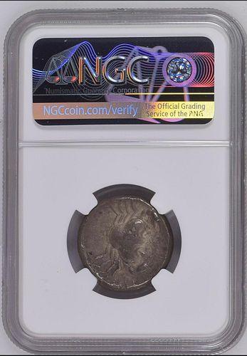 Ancient SICILY. Akragas. Silver Tetradrachm, ca. 465/4-446 B.C. NGC
