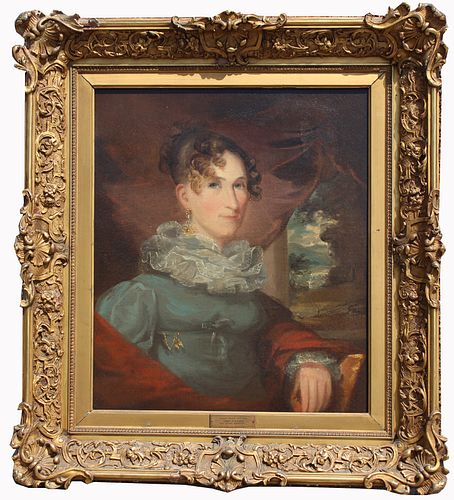 """Gilbert Stuart (1755 - 1828) """"Mrs. Daniel Webster"""""""
