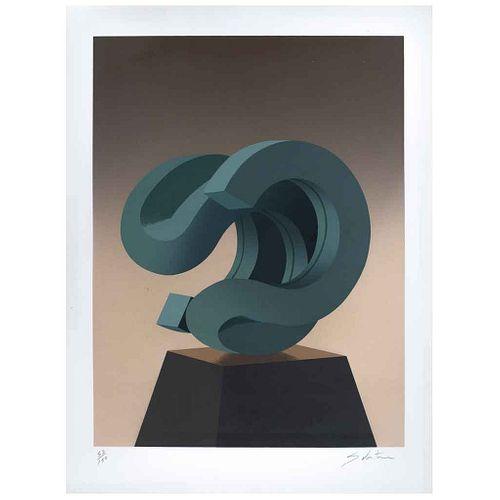 "ENRIQUE CARBAJAL ""SEBASTIAN"", Sin título, Firmado, Grabado 52 / 150, 90 x 69 cm | ENRIQUE CARBAJAL ""SEBASTIAN"", Untitled, Signed, Engraving 52 / 150,"
