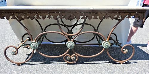ANTIQUE FRENCH BAKERS TABLE