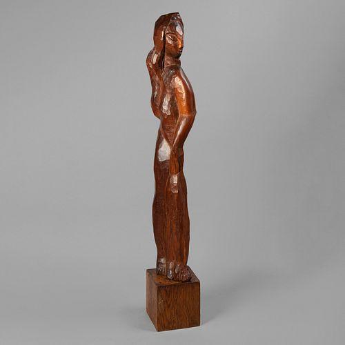 Jose De Creeft, Untitled (Standing Woman)