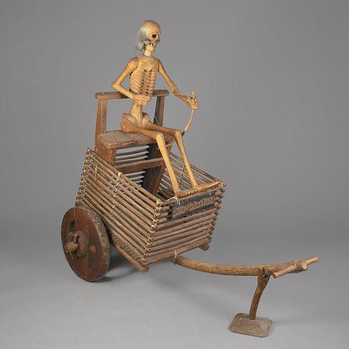 Horacio Valdez, Doña Sebastiana Carreta de Muerte (Death Cart), ca. 1974