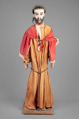 Abiquiu, New Mexico, Bulto of Nuestro Padre Jesus Nazareno, ca. 1870-1880