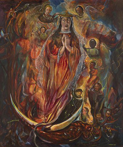 Eliseo Rodriguez, La Virgen Apocalypse, 1970