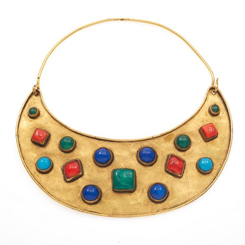 Vintage Yves Saint Laurent Bib Necklace