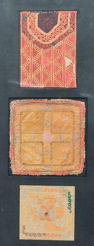 3 Near Eastern Textile Panels