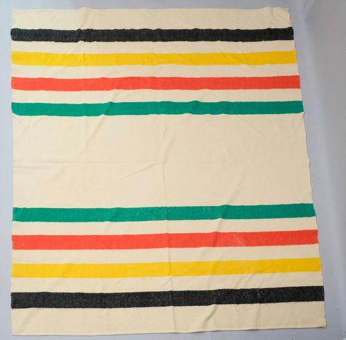 Hudson Bay 4 Bar Blanket