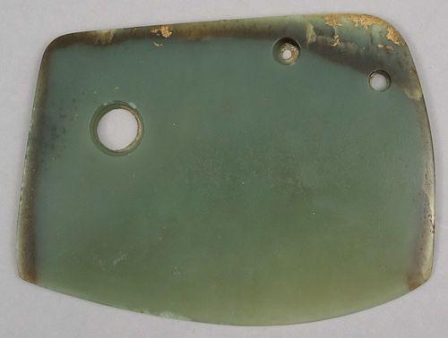 Xia-Shang Period Qijia Jade Axe Head