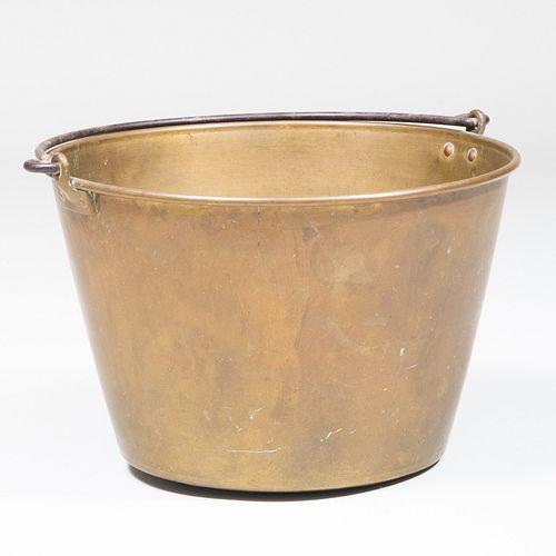 Brass Kindling Bucket