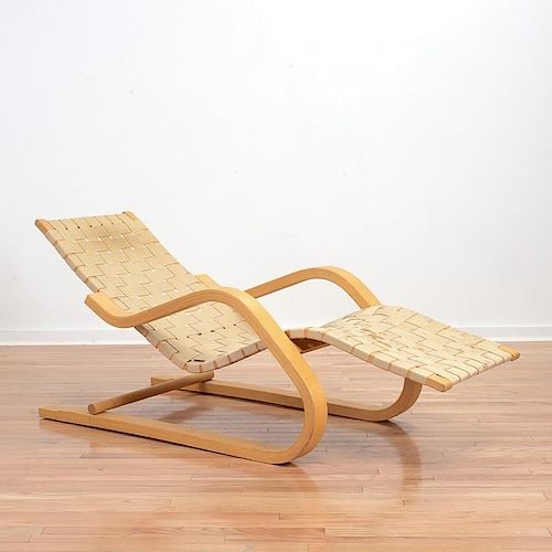 Alvar Aalto For Artek No 39 Cantilever Chaise By Millea Bros Ltd