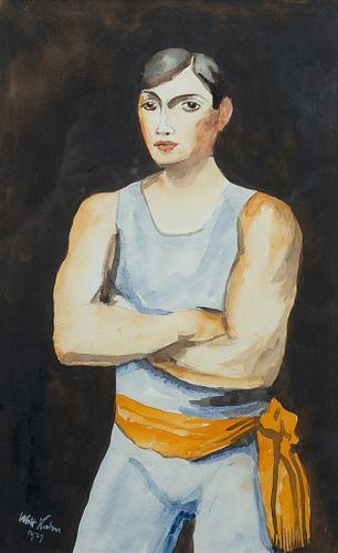 "Walt Kuhn - ""The Tumbler"" 1927"