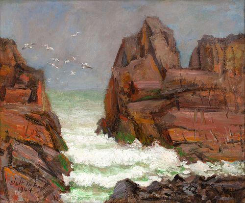 "Walt Kuhn - ""Seascape"" 1944"