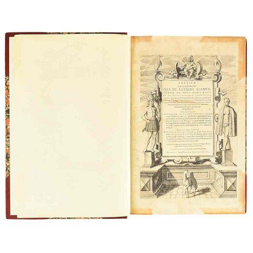 Bry, Theodori de. Americæ Nona & Postrema Pars. Frankfurt: Matthew Becker, 1602. Frontispicio y una lámina.