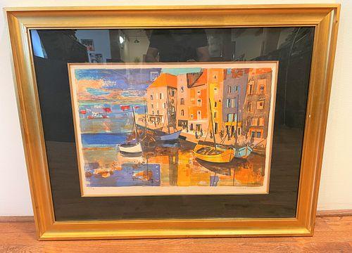 Signed George Lambert French Art