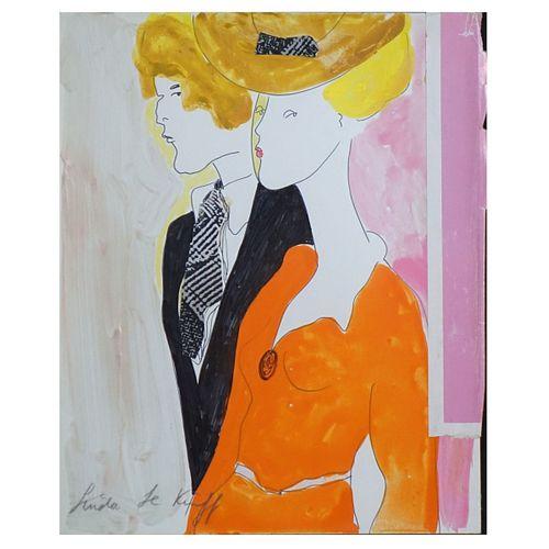 Linda Le Kinff (Born 1949)