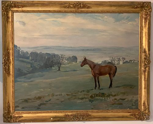 Charles Walter Simpson (1885-1971) Horse in Pasture