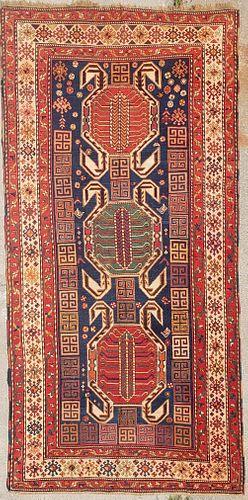 Fine Antique Caucasian Oriental Carpet, circa 1880