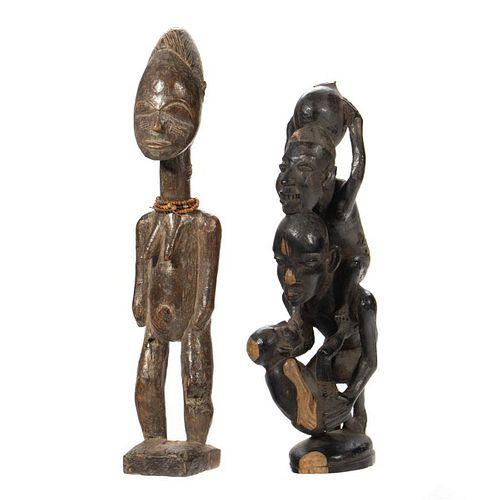 Yoruba Style Carved Figures