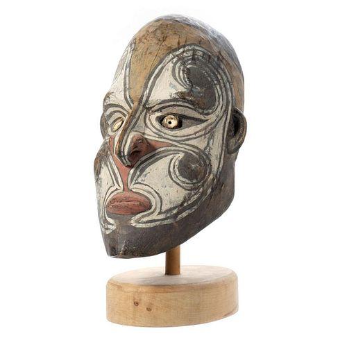 Tribal Art Bust of a Man