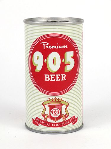 9*0*5 Premium Beer ~ 12oz National Can ~ T98-13