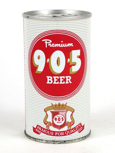 9*0*5 Premium Beer ~ 12oz Continental Can ~ T98-13