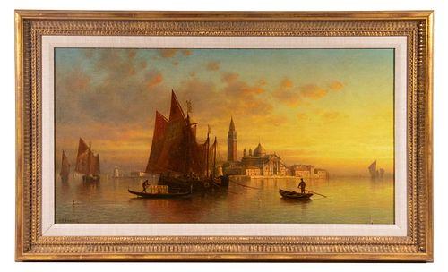 ANDREW FISHER BUNNER (NY/ITALY, 1841-1897)