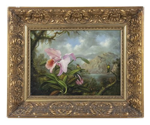 AFTER MARTIN JOHNSON HEADE, PROBABLY BY KEN PERENYI