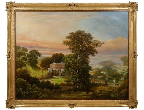 PORTRAIT OF A GEORGIAN COUNTRY MANOR HOME