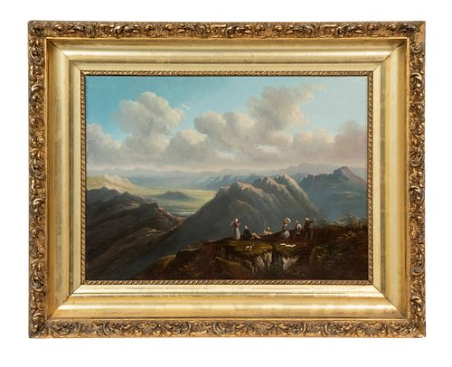 HIPPOLYTE JEAN-BAPTISTE GARNERAY (FRANCE, 1787-1858) AFTER WILLIAM BARTLETT(NH/ ENGLAND/ CANADA, 1809-1854)