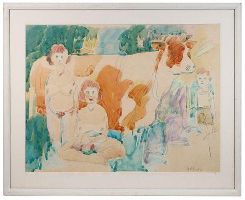 NEIL WELLIVER (ME, 1929-2005)