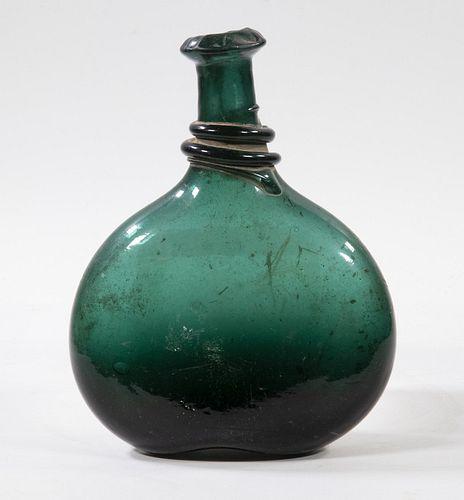 PERSIAN GLASS SADDLE FLASK