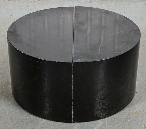 Paul Mayen for Habitat Black Enamel Side Tables, 2