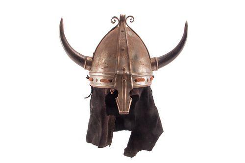Migration Period Viking Raider Horned Helmet