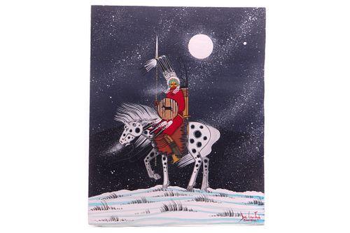 Original Dau-Law-Taine Horseback Painting 2021