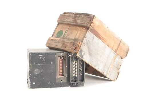 Signal Corps US Army Radio Transmitter 1940's