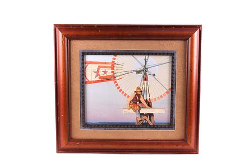 The Last Star Mill Framed Giclee By G. Snidow