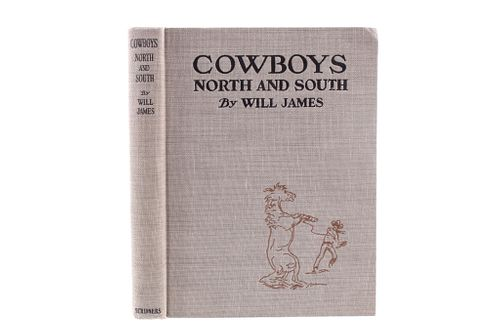 1930 Cowboys North & South by Will James